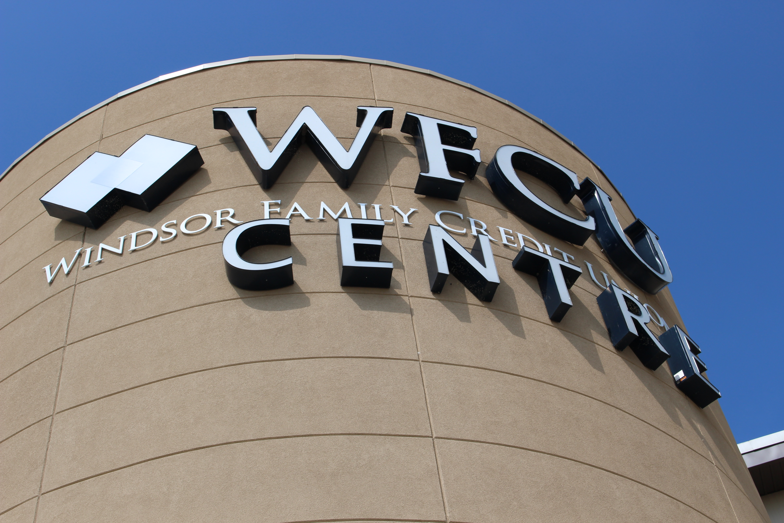 The WFCU Centre in Windsor, August 25 2014. (Photo by Adelle Loiselle.)