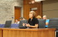 Long-time volunteer organizer of the LaSalle Strawberry Festival Debbie Boose is seen in Council Chambers at the LaSalle Civic Centre in this photo taken August 26, 2014. (Photo by Ricardo Veneza)