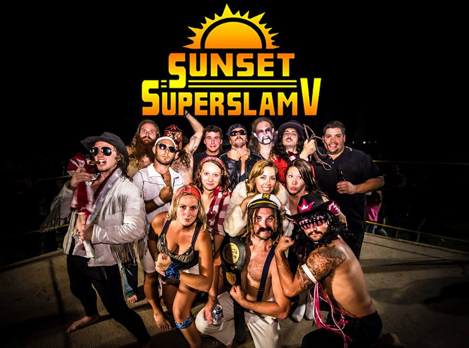 Sunset Superslam 5 happens August 31 in Erieau. Photo courtesy of Facebook.