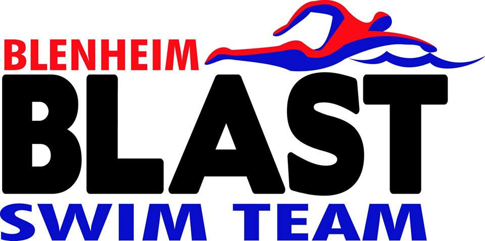 Logo courtesy of the Blenheim Blast Swim Team.