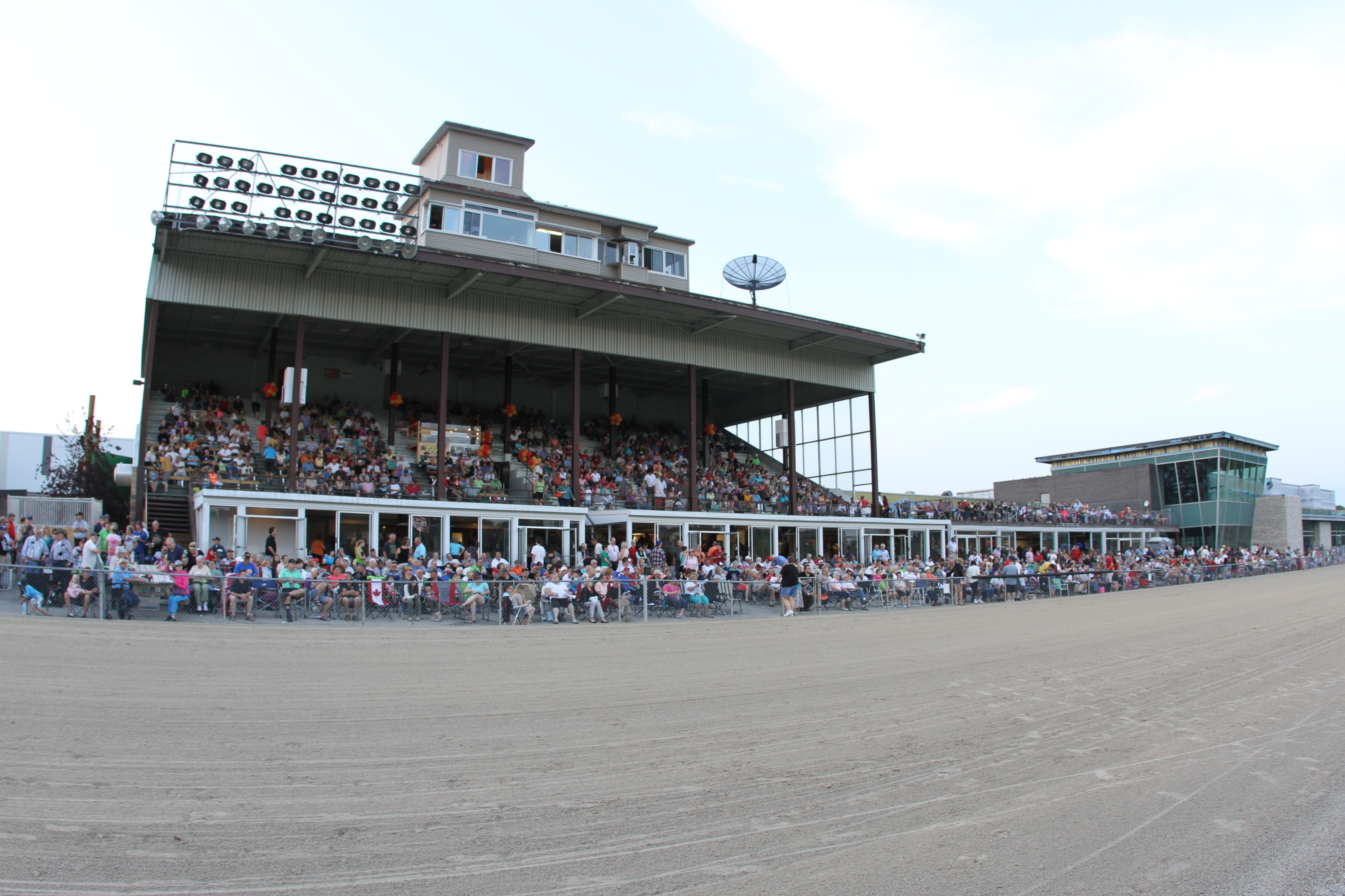 Full stands for Dream of Glory at Hanover Raceway.  (Submitted photo)