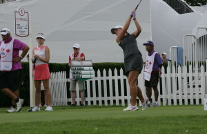 Stratford's Natalie Gleadall at the Canadian Pacific Women's Open in London. (Photo by: Roy Montgomery)