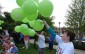 110 balloons were released to mark Hanover's 110 years and kick off homecoming weekend. (Photo courtesy of Kirk Scott)