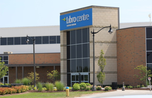 The Libro Credit Union Centre in Amherstburg, August 19 2014. (Photo by Adelle Loiselle.)