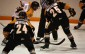 Sarnia Sting training camp scrimmage (Photo by Dave Dentinger - Aug 28-14)