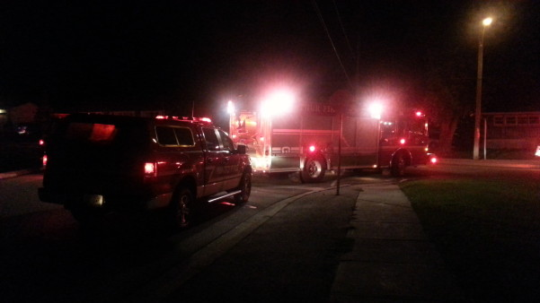 Crews on scene at Birmingham Retirement home in Mount Forest. September 8, 2014. (Photo submitted by witness)
