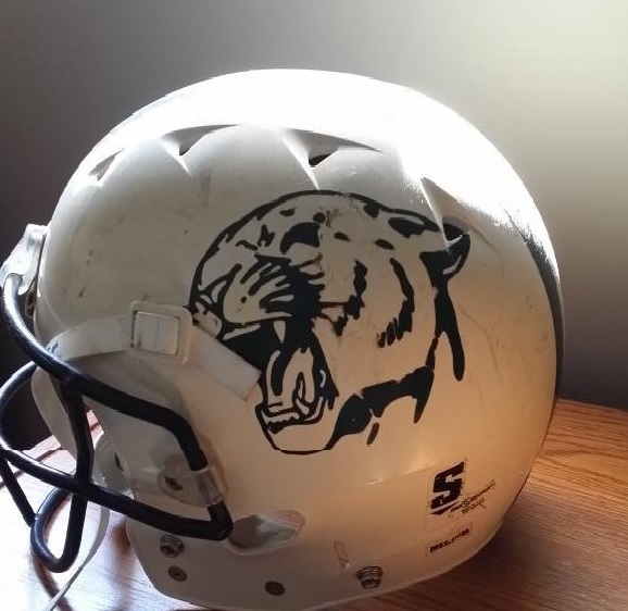 Chatham-Kent Cougars football helmet. (Photo courtesy of CK Cougars)