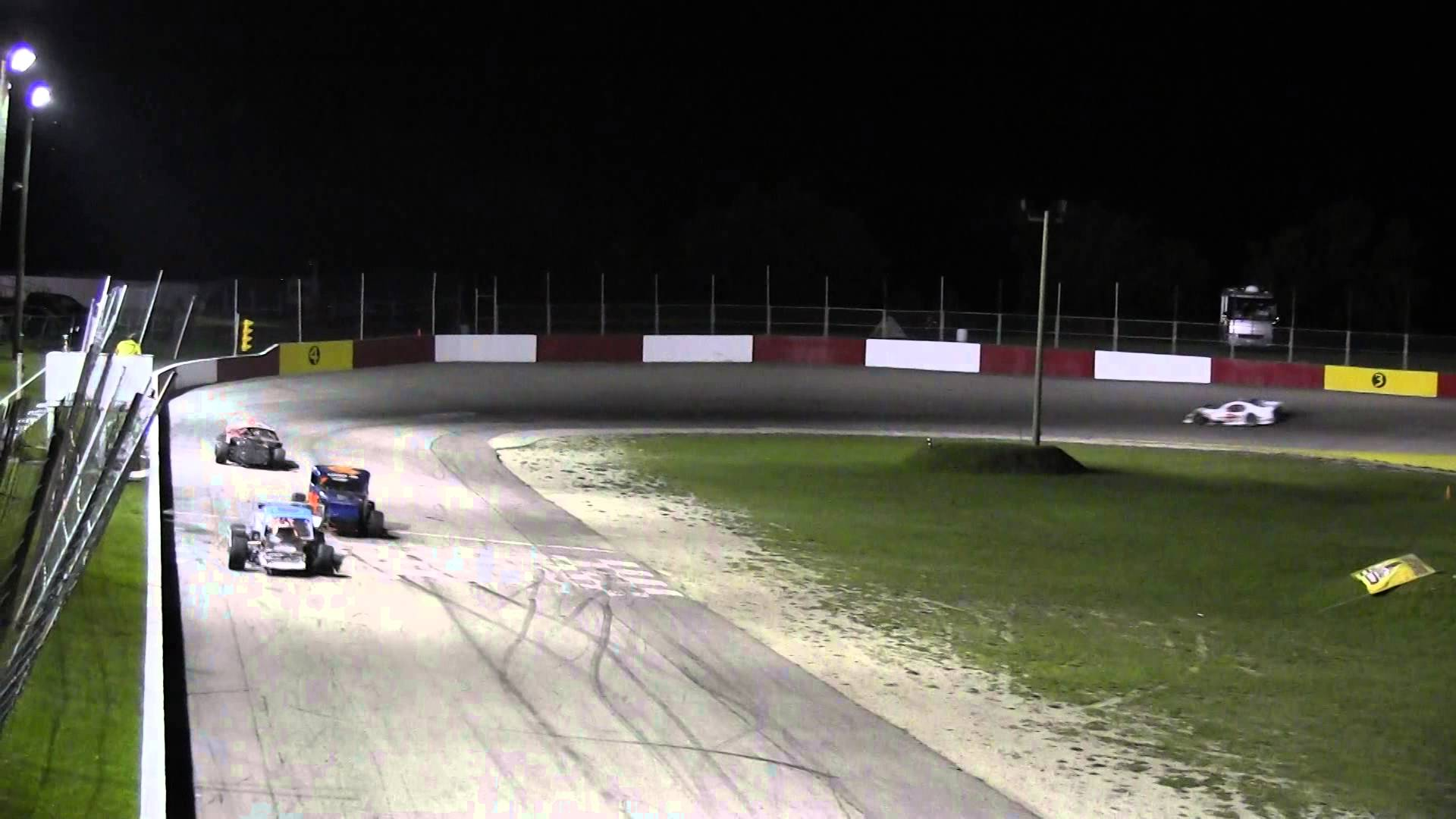 Full Throttle Motor Speedway - Open Wheel Modified - August 29, 2014