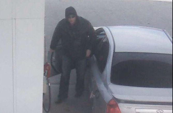 Police Looking For Serial Gas Thief