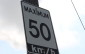 A speed limit sign. (Photo by Adelle Loiselle.)