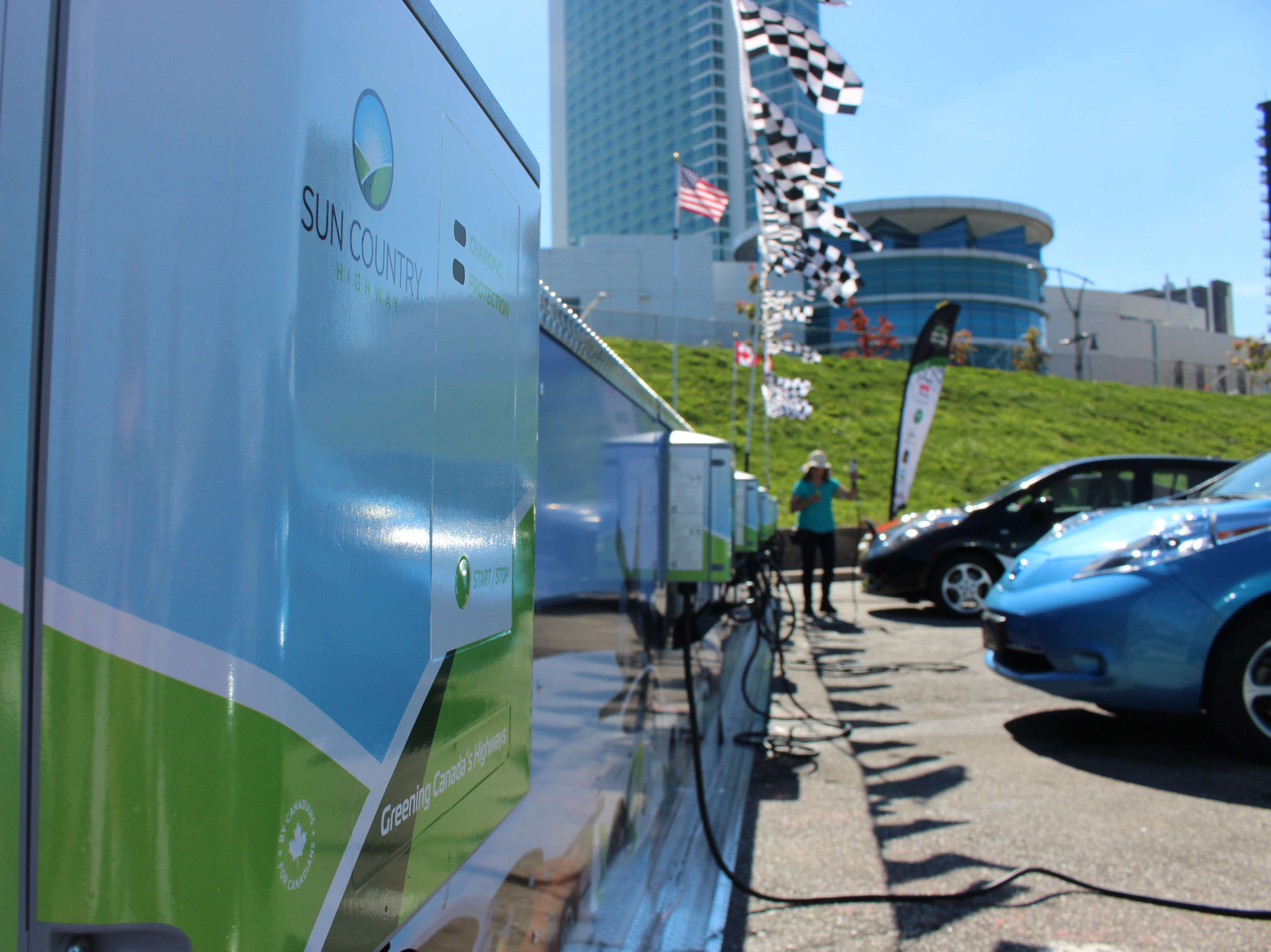 Windsor's first International Electric Vehicle Fest took place at Festival Plaza September 27, 2014. (Photo by Jason Viau)