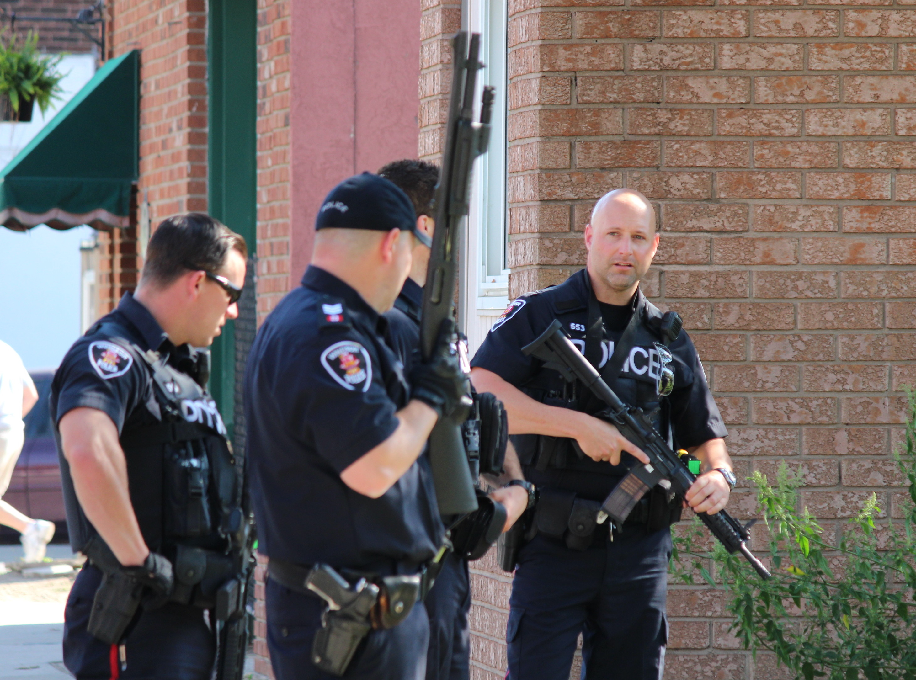 Windsor police are investigating after shots were fired in the 1000 block of Drouillard Rd. (Photo by Jason Viau)