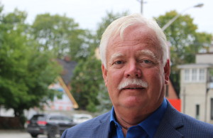 Windsor mayoral candidate John Millson, September 15 2014. (Photo by Adelle Loiselle.)