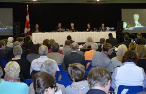 The Joint Review Panel on the proposed DGR first met in Kincaridne in 2013, pictured above. (BlackburnNews.com stock photo)
