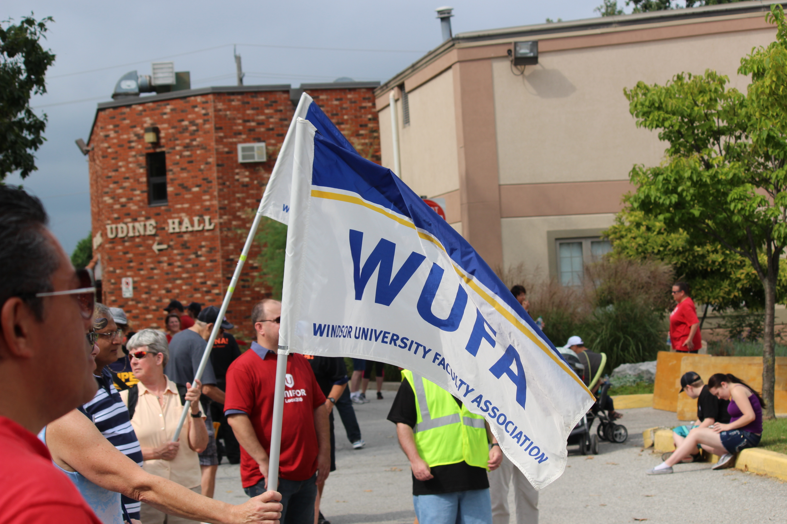 Faculty Lead Labour Day Parade (Gallery)