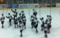 The Chatham Maroons salute the crowd following their home opener at Memorial Arena, a 3-1 win over the Leamington Flyers.