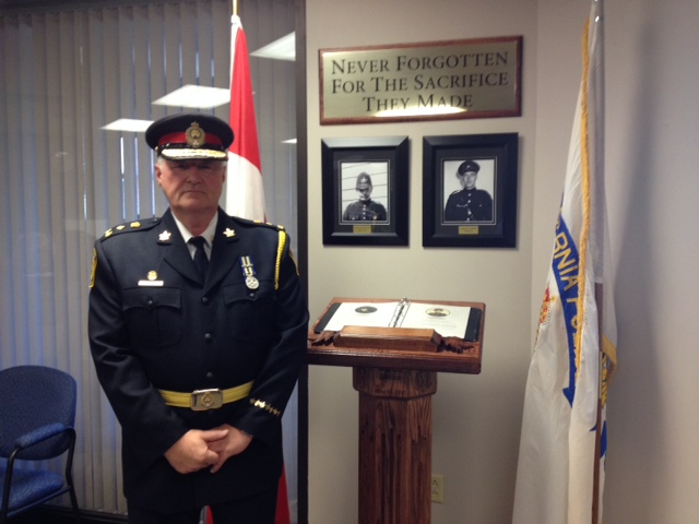 Sarnia Police Chief Phil Nelson. BlackburnNews.com (Photo by Jake Jeffrey)