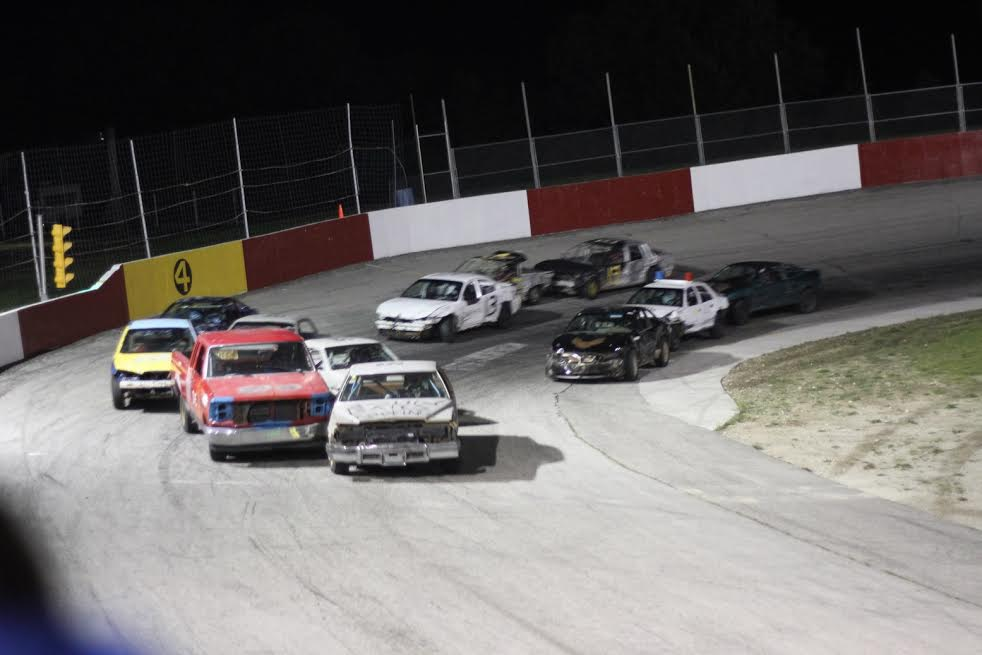 Racers gather at the Full Throttle Motor Speedway, September 12, 2014. (Photo courtesy of Doug Townsend)