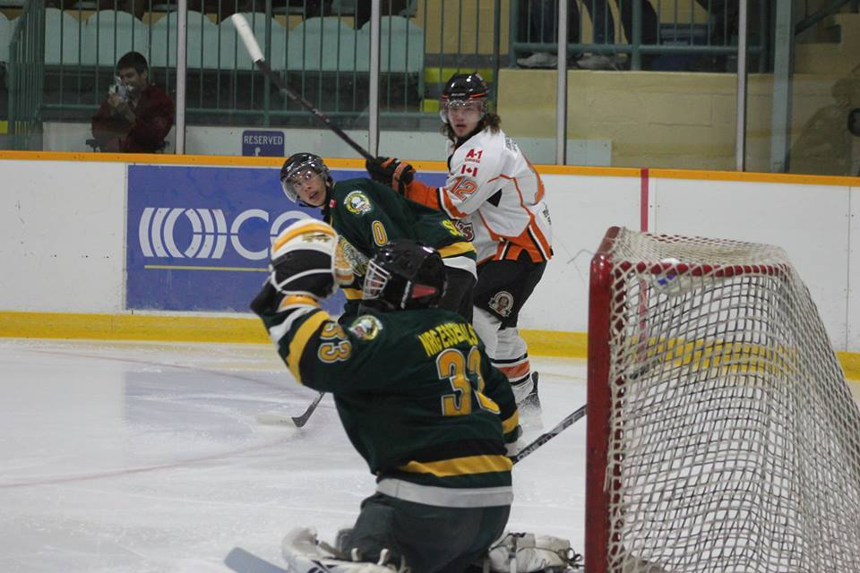 The Wallaceburg Lakers host the Essex 73's. (Photo courtesty of Jocelyn McLaughlin)