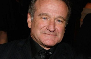 Robin Williams in close-up