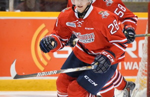 Jacob Busch was acquired from the Oshawa Generals on October 24th. (Photo courtesy of Owen Sound Attack)