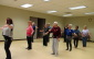 Students take in a belly-dancing class at the Active Living Centre in Chatham.