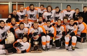 The Kincardine Kinucks Midget Rep. team wins the Archie McMillan tournament.  (Submitted photo)