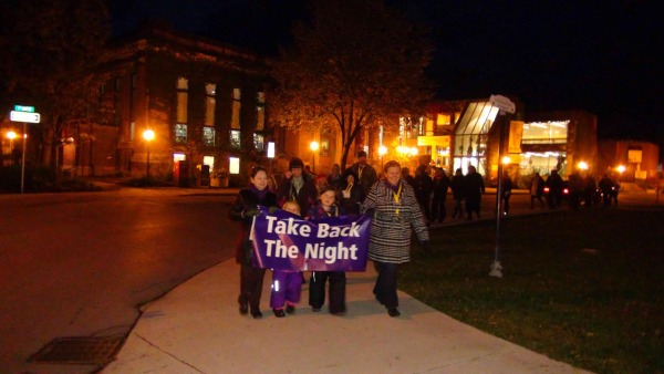 Owen Sound Takes Back The Night