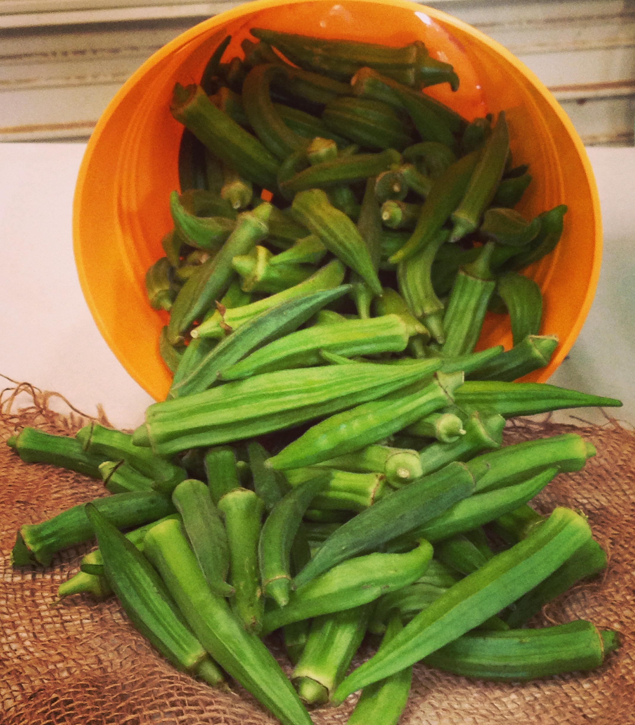 Ontario grown Okra