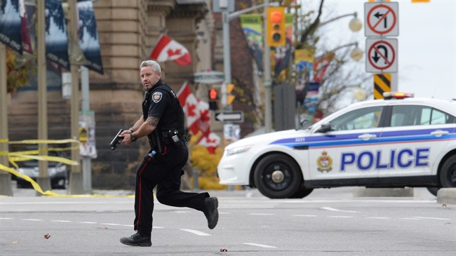 Soldier And Gunman Dead In Parliament Hill Siege