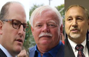 Drew Dilkens, John Millson and Larry Horwitz are trying to become Windsor's next mayor during the 2014 municipal election.
