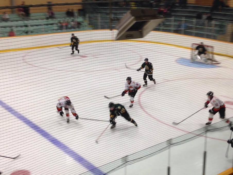 The Wallaceburg Lakers take on the Blenheim Blades, October 1, 2014. (Photo courtesy of Cameron Chase)