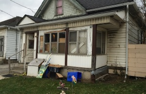 150 Adelaide St. North, where Shane Sturgess and another man were stabbed on November 9. Photo by Ashton Patis, BlackburnNews.com