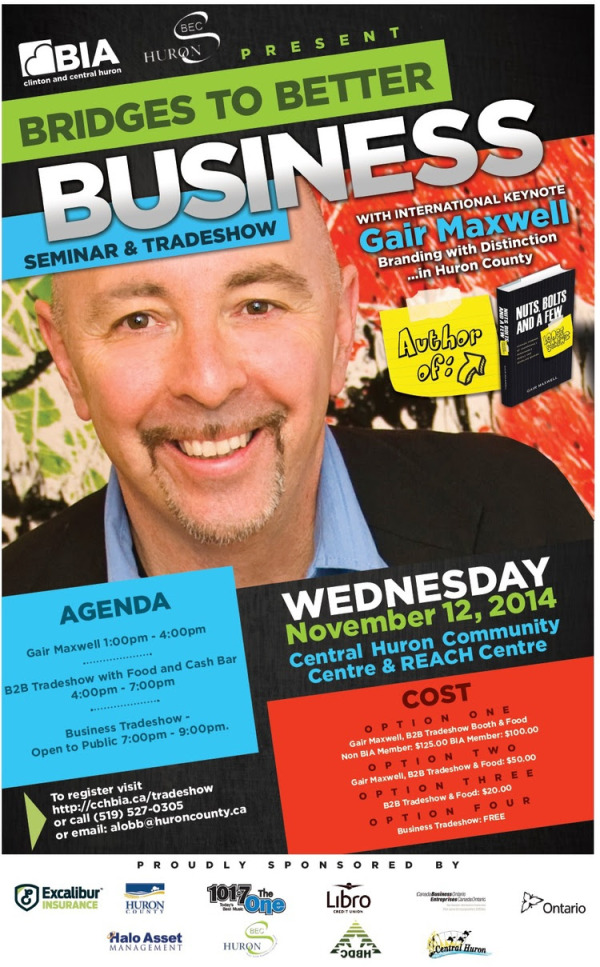 Bridges to Better Business Trade Show - Central Huron
