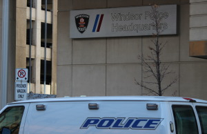 BlackburnNews.com file photo of Windsor police headquarters. (Photo by Jason Viau)