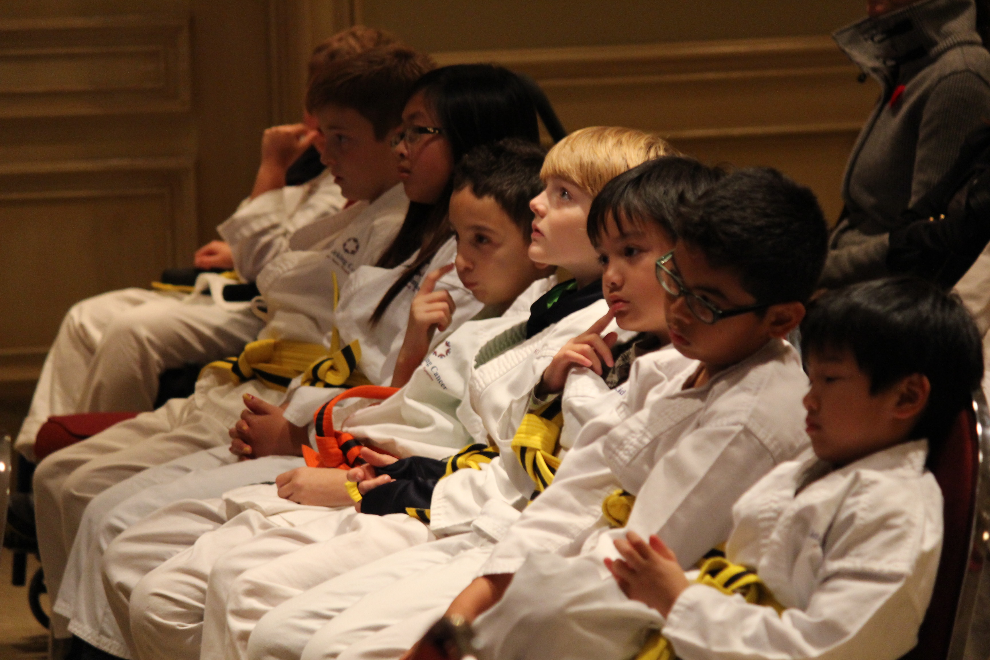 A group of children in Windsor-Essex help teach others how to manage pain through karate. (Photo by Jason Viau)