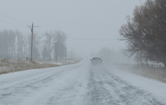 Local Driving Conditions Improve – Icy Tomorrow?