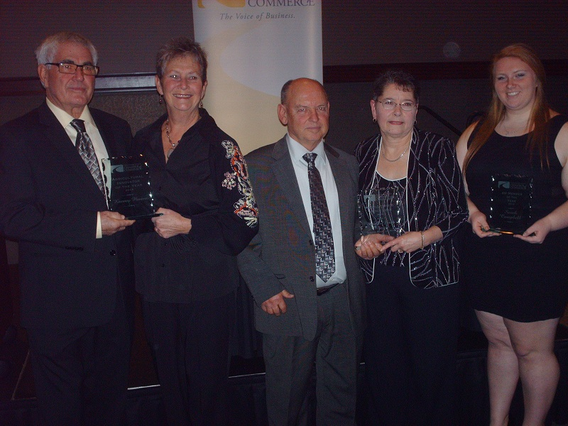 Award winners from the 2014 Rural Urban dinner. (Photo by Simon Crouch)
