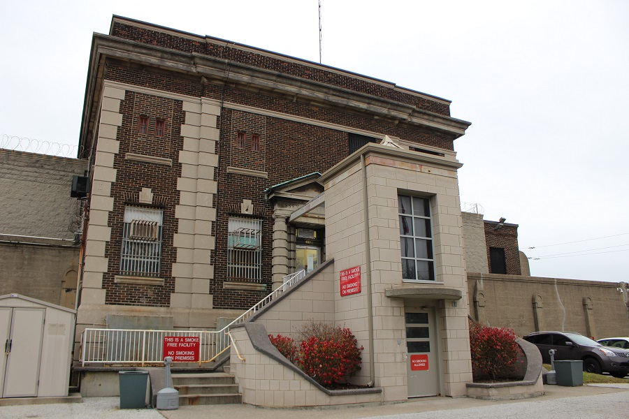 The Windsor Jail, built in 1925, (Photo by Maureen Revait)