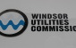 The Windsor Utilities Commission symbol on the side of its headquarters in downtown Windsor. (photo by Mike Vlasveld)