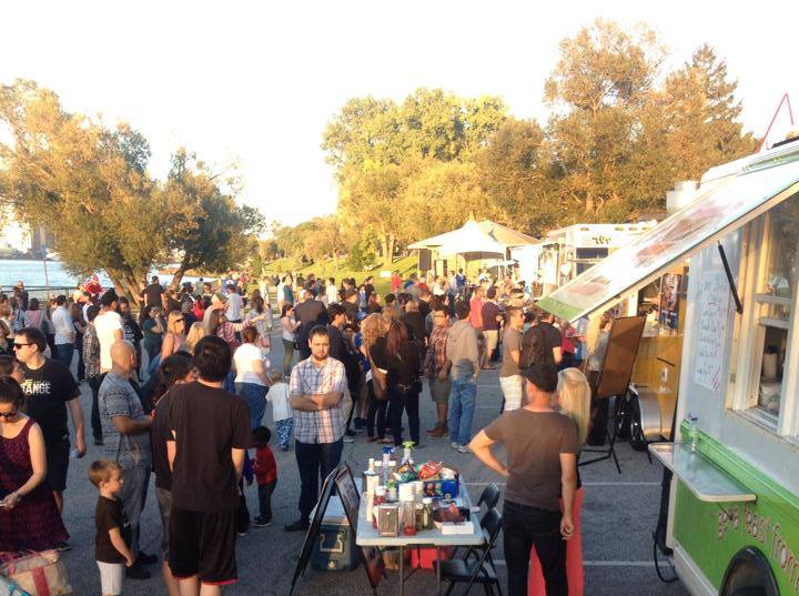Adriano Ciotoli says 6,000 people attended September's food truck rally in Windsor's Assumption Park. (Photo courtesy of Adriano Ciotoli.)