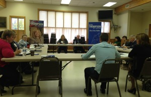 MPP hosts healthcare round table meeting in Belgrave