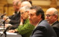 Tecumseh Deputy Mayor Joe Bachetti is seen front and centre in this December 10, 2014 photo as Essex County Council holds its inaugural meeting on December 10, 2014 at the Ciociaro Club. (Photo by Ricardo Veneza)