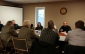 Farmers and members of the agricultural sector have a roundtable discussion with MPP's regarding neonicotinoids (Photo taken by Jake Kislinsky).