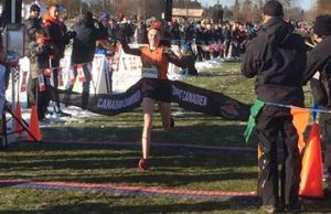 Cross Country Runner Hannah Woodhouse. Submitted photo.