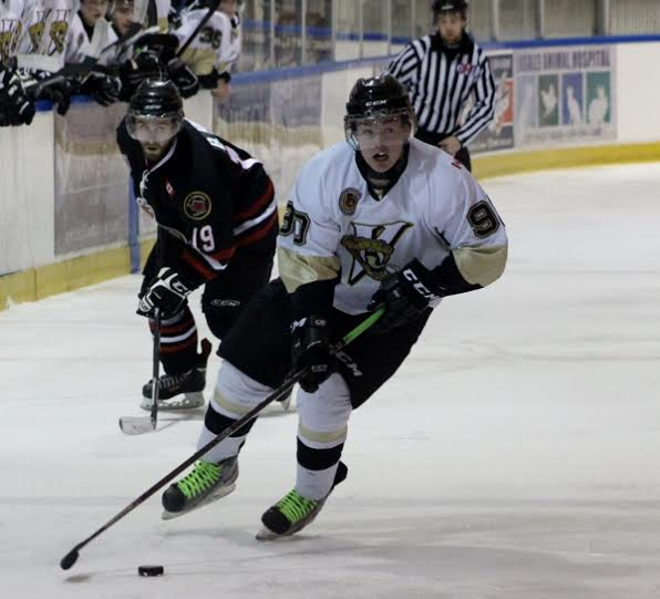 LaSalle Vipers forward Brett Primeau. (Photo courtesy of ChelseaLefler/LaSalleVipers.com)