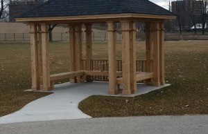 Pt. Edward has donated a gazebo to Sarnia for its 100th birthday.