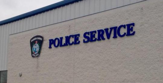 Saugeen Shores Police Station (photo - Jordan MacKinnon)