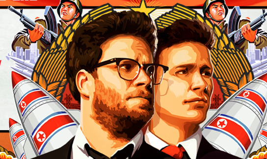 The Interview movie posted. (Photo courtesy The Interview/Columbia Pictures)