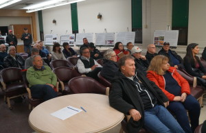 Sarnia's Arena Management Public Meeting. January 27, 2015. (photo by Jake Jeffrey blackburnnews.com)